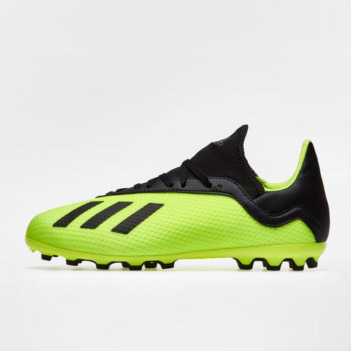 online retailer 74d60 f614f adidas X 18.3 AG Kids Football Boots. Solar Yellow Core Black Solar Yellow