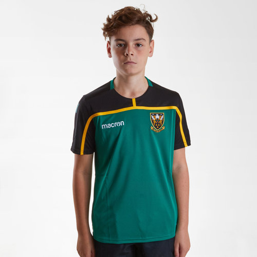 Northampton Saints 2018/19 Kids Rugby Training T-Shirt