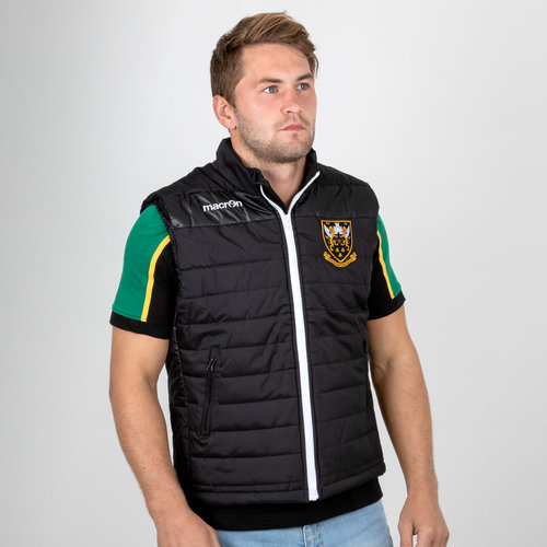 Northampton Saints 2018/19 Players Match Day Rugby Gilet