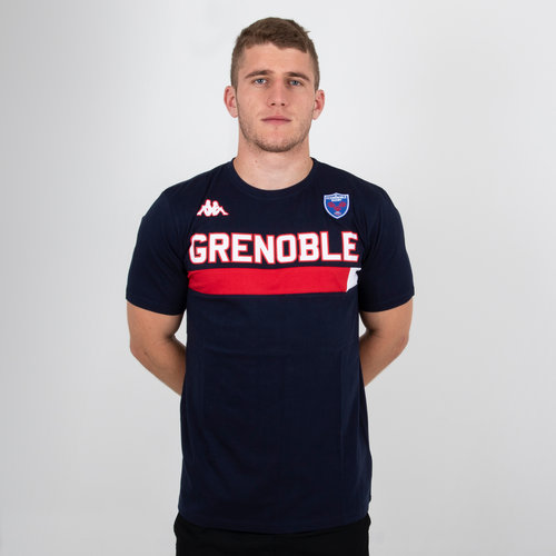 FC Grenoble 2018/19 Ambra Rugby T-Shirt