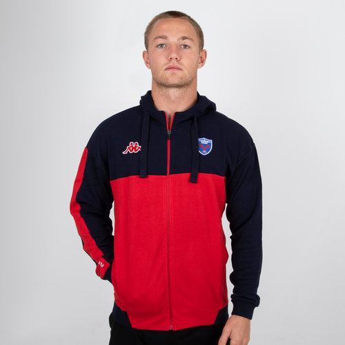 FC Grenoble 2018/19 Franca Hooded Rugby Jacket