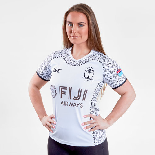 Fiji 7s 2018/19 Ladies Home S/S Rugby Shirt