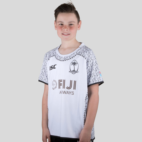 Fiji 7s 2017/18 Youth Home S/S Shirt
