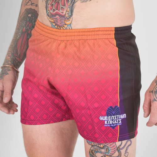 Queenstown Knights 2018/19 Home Rugby Shorts