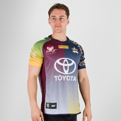 North Queensland Cowboys NRL 2018 Johnathan Thurston Testimonial S/S Rugby Shirt