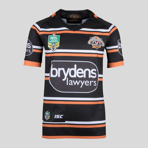 Wests Tigers NRL 2018 Youth Members S/S Rugby Shirt