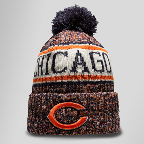 NFL Chicago Bears Sideline Bobble Knit Hat