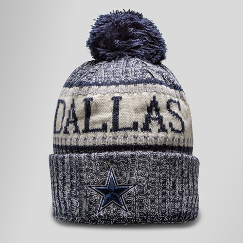 NFL Dallas Cowboys Sideline Bobble Knit Hat