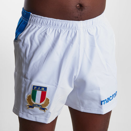 Italy 2018/19 Home Players Rugby Shorts