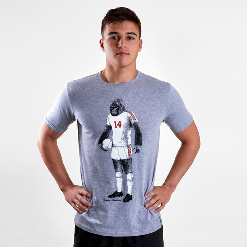 Gorilla Graphic Rugby T-Shirt