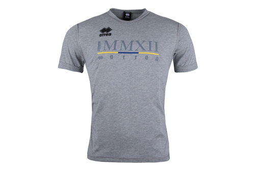 Zebre 2017/18 Players Rugby Training T-Shirt