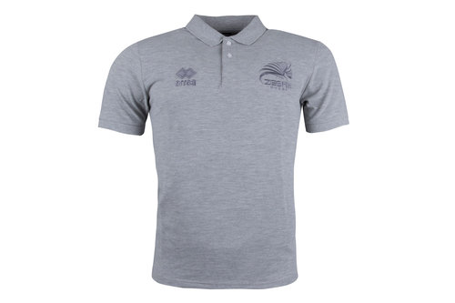 Zebre 2017/18 Players Rugby Polo Shirt