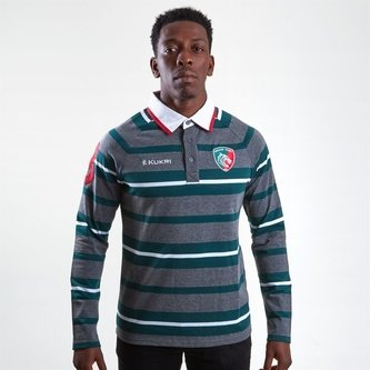 Leicester Tigers 2018/19 Yarn Dye Rugby Shirt