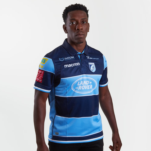 Cardiff Blues 2018/19 Home S/S Replica Rugby Shirt