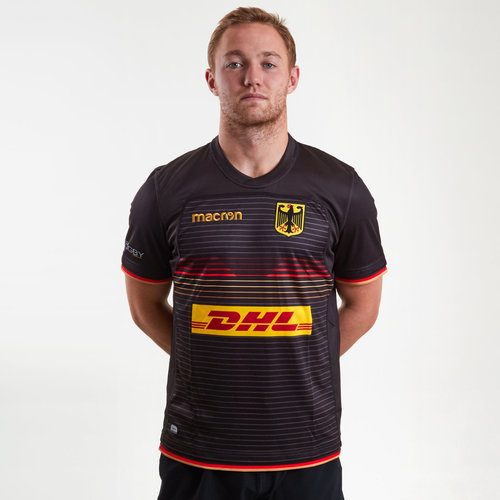 Germany 2018/19 Home S/S Rugby Shirt