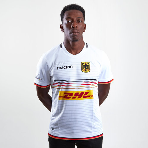 Germany 2018/19 Alternate S/S Rugby Shirt