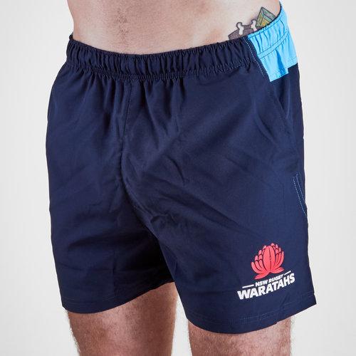 NSW Waratahs 2019 Super Rugby Training Gym Shorts