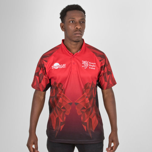 Kenya 7s 2018 RWC Home S/S Replica Rugby Shirt