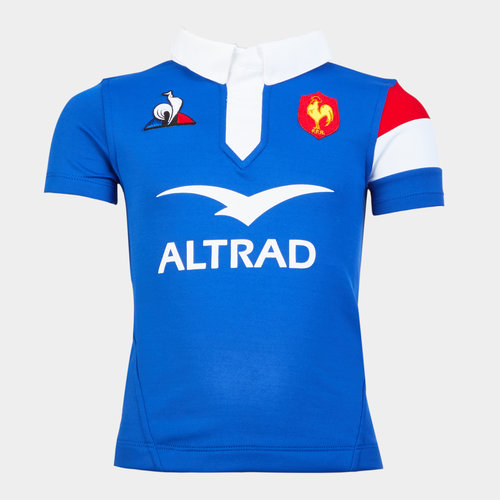 France 2018/19 Youth Home S/S Rugby Shirt