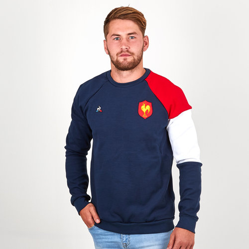 France 2018/19 Supporters Rugby Sweatshirt