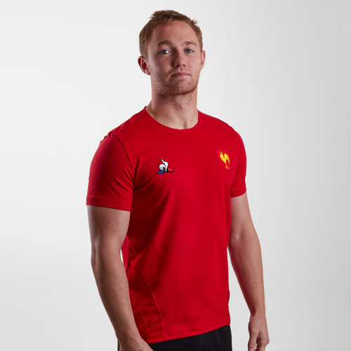 France 2018/19 Players Rugby Training T-Shirt
