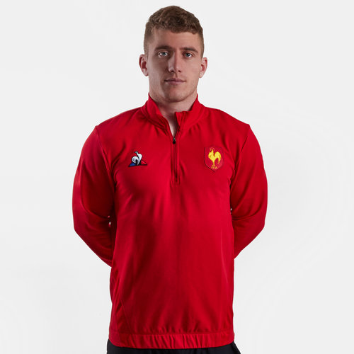 France 2018/19 Players Rugby Training Sweatshirt