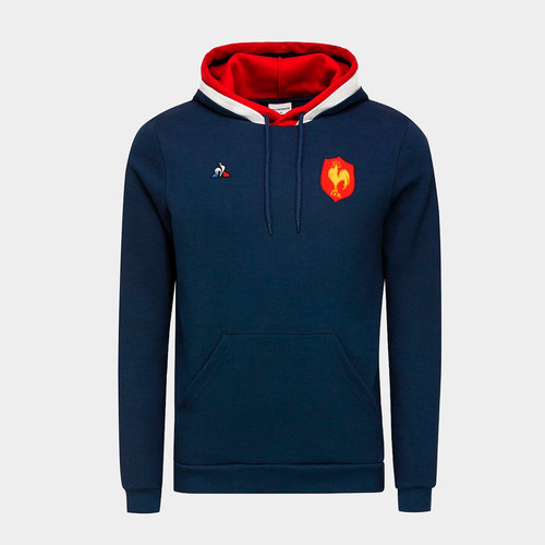 France 2018/19 Youth Hooded Rugby Sweat