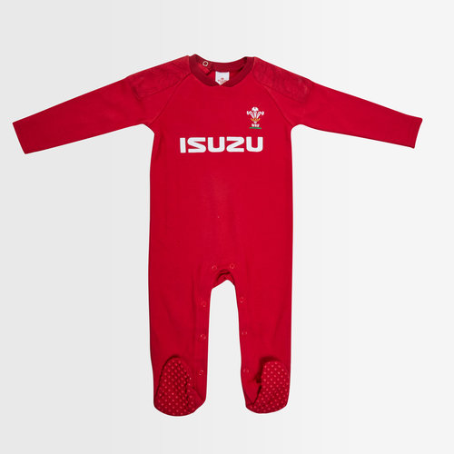 Wales WRU 2018/19 Infants Rugby Sleepsuit