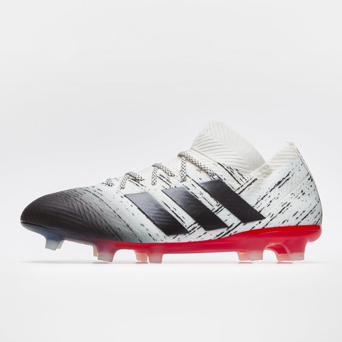 best service 88955 530e2 adidas Nemeziz 18.1 FG Football Boots. Off White Core Black Active Red