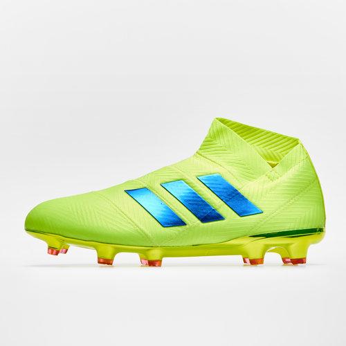 77e180324b6e6c adidas Nemeziz 18+ FG Football Boots. Solar Yellow/Football Blue/Active Red