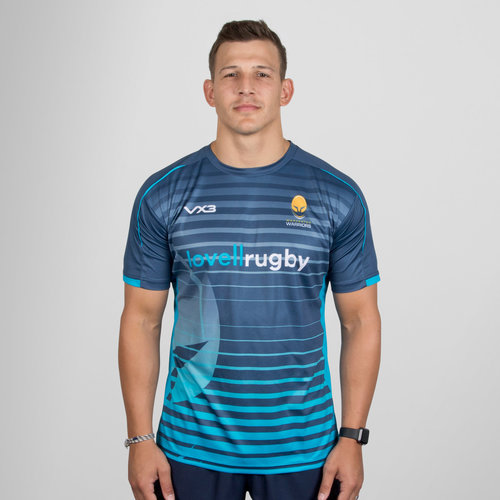 Worcester Warriors 2018/19 Sublimated Rugby T-Shirt