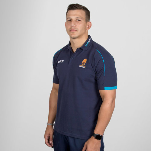 Worcester Warriors 2018/19 Pro Rugby Polo Shirt