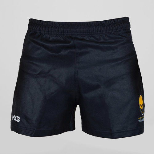 Worcester Warriors 2018/19 Kids Home Players Rugby Shorts