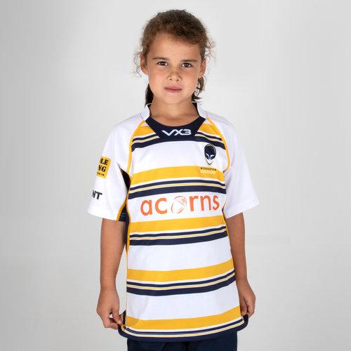 Worcester Warriors 2018/19 3rd Kids Replica Rugby Shirt
