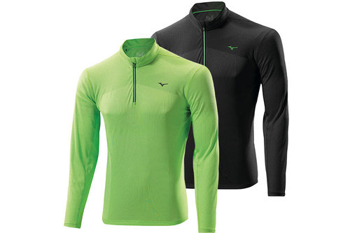 AW14 Mens Breath Thermo Long Sleeve 1/2 Zip Running Top