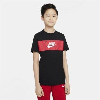 Futura Panel T-Shirt Junior Boys