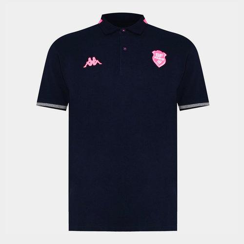 Stade Francais Polo Shirt Mens