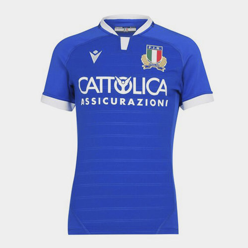 Italy Authentic Home Jersey Mens