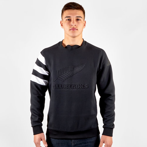 New Zealand All Blacks 2019/20 Rugby Crew Neck Sweatshirt