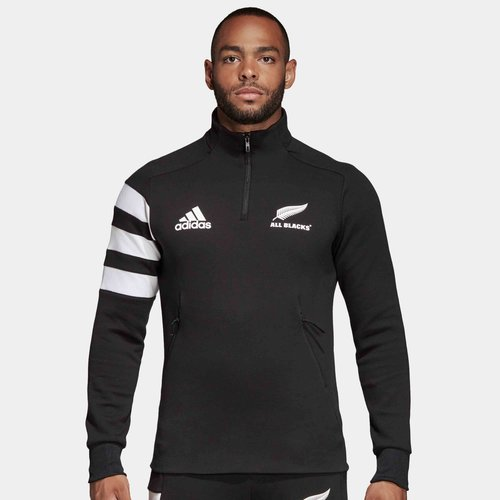 New Zealand All Blacks 2019/20 1/4 Zip Fleece