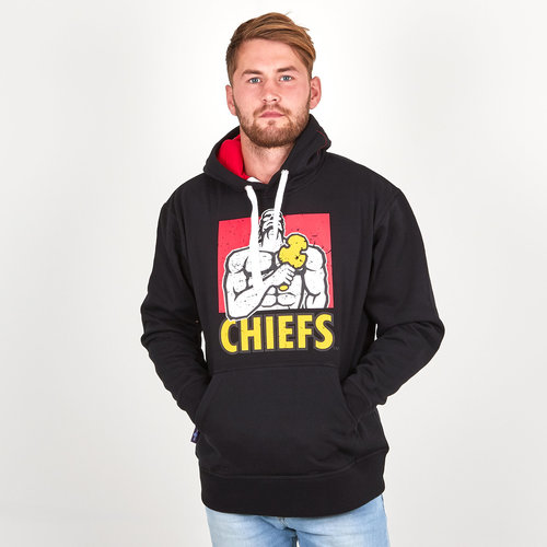 Chiefs 2019 Graphic Super Rugby Hooded Sweat
