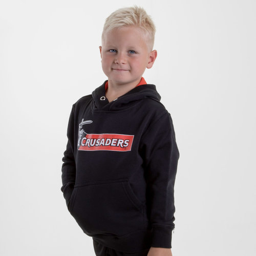 Crusaders 2019 Kids Graphic Super Rugby Hooded Sweat