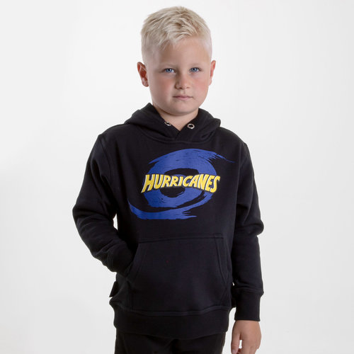 Hurricanes 2019 Kids Graphic Super Rugby Hooded Sweat