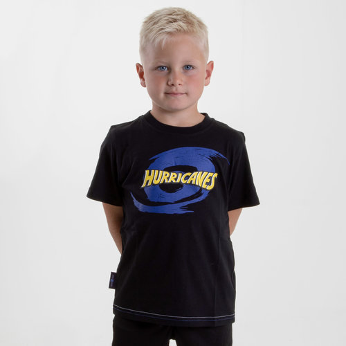 Hurricanes 2019 Kids Graphic Super Rugby T-Shirt