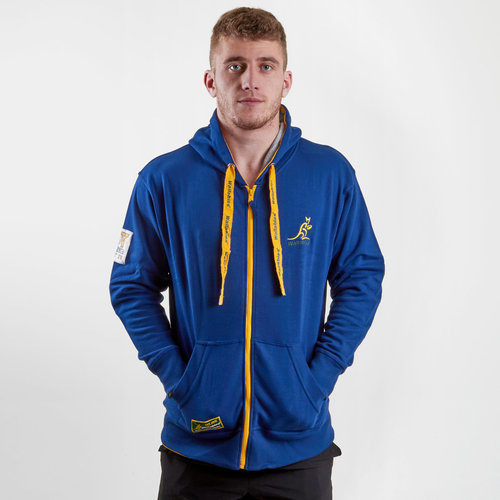 Australia Wallabies 2018 Off Field Hooded Rugby Sweat
