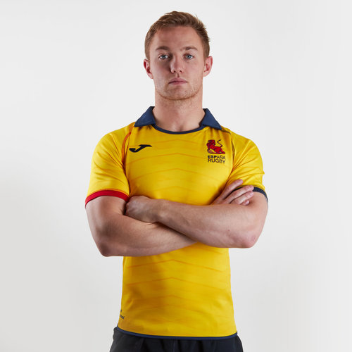 Spain 2018/19 Alternate S/S Rugby Shirt