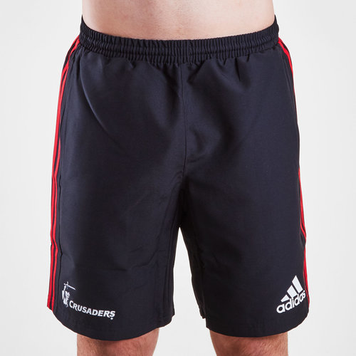 Crusaders 2019 Super Rugby Woven Training Shorts