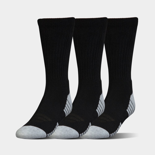 HeatGear Tech Crew Socks 3 Pack