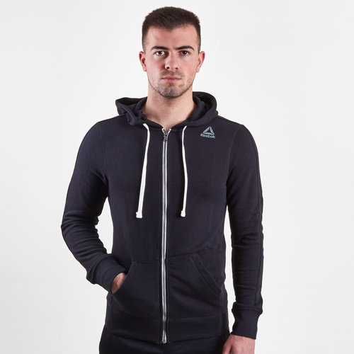 French Terry Full Zip Hooded Sweat