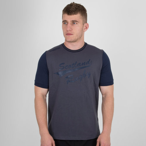 Scotland 2017/18 Travel Leisure Rugby T-Shirt